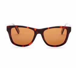 Crimson - Unisex Palms Polarized Wayfarer Sunglasses