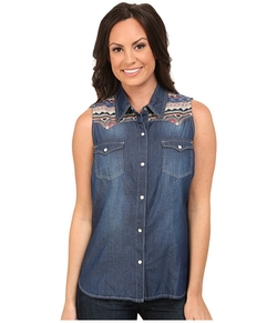 Roper - Oz Denim Sleeveless Shirt
