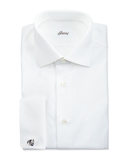 Brioni	  - Micro Striped Dress Shirt