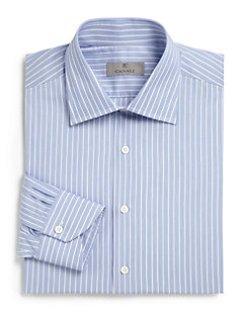 Canali  - Thin Stripe Dress Shirt