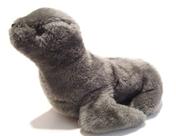 Grey R. Dakin - Vintage Plush Baby Seal Pup
