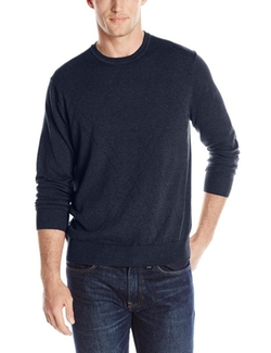 Savane  - Crew-Neck Diamond-Pattern Sweater
