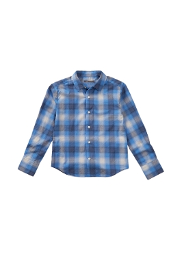 Vince - Shadow Plaid Button Down Shirt