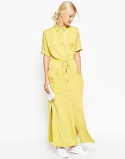 Asos Collection - Maxi Shirt Dress