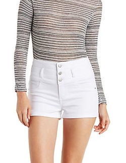Charlotte Russe - High Rise Shorts