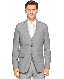 Calvin Klein - End-On-End Suit Jacket