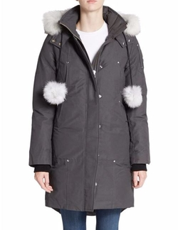 Moose Knuckles  - Stirling Fur-Trim Parka Jacket