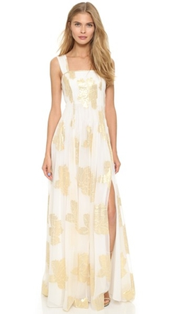 Diane Von Furstenberg - Lillie Slit Maxi Dress