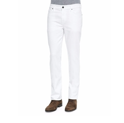 7 For All Mankind  - Standard Clean White Jeans