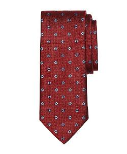 Brooks Brothers - Parquet Floral and Dot Tie