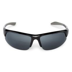 Claiborne - Semi-Rimless Wrap Sunglasses