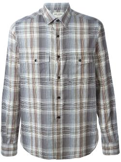 Saint Laurent  - Classic Plaid Shirt