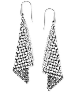 Swarovski Earrings - Crystal Fan Earrings