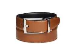 Perry Ellis  - Amigo Tan Leather Belt