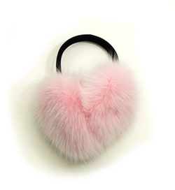 Hima - Fox Fur Earmuffs