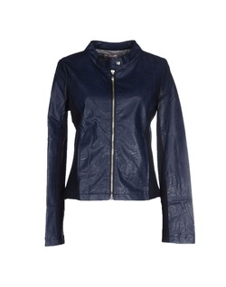 Fontana 2.0  - Zip Leather Jacket