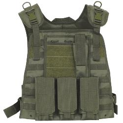 galaxyarmynavy - Olive Drab - Tactical MOLLE Plate Carrier Vest
