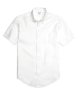 Regent  - Fit  Linen Short-Sleeve Sport Shirt