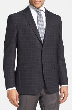 Ted Baker London - Jones Trim Fit Black Check Sport Coat