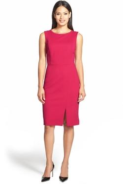 Classiques Entier - Back Zip Ponte Sheath Dress