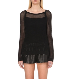Rag & Bone - Odette Sheer Mesh Jumper