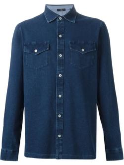 Fay - Denim Button Shirt