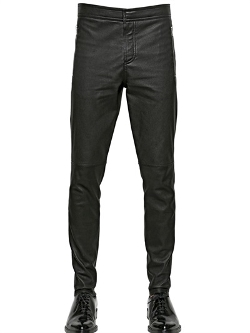 Givenchy - Stretch Nappa Leather Trousers