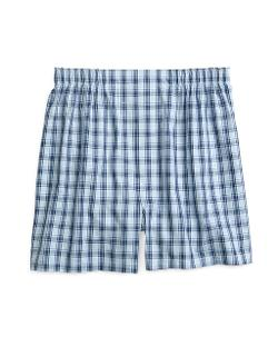 Brooks Brothers - Slim Fit Framed Check Boxers