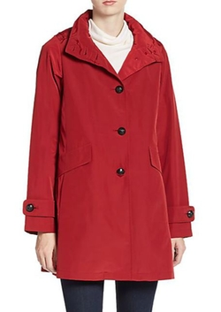 Jane Post - A-Line Trench Coat