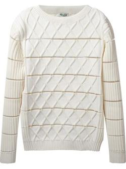 Kenzo - Geometric Knit Sweater