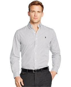Polo Ralph Lauren  - Bengal-Striped Poplin Shirt