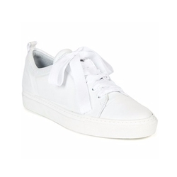 Lanvin - Embossed Leather Low-Top Sneakers