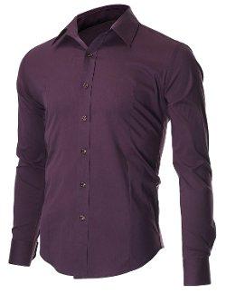 Flatseven - Casual Button Down Shirt