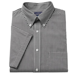 Croft & Barrow - Classic-Fit Pinpoint Checked Button-Down Shirt