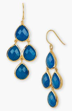 Argento Vivo  - Semiprecious Stone Drop Earrings