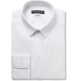 Dolce & Gabbana   - Cotton-Blend Shirt