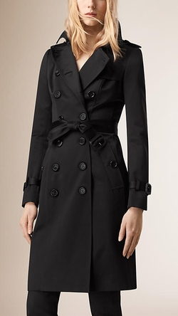 Burberry - Cotton Sateen Trench Coat