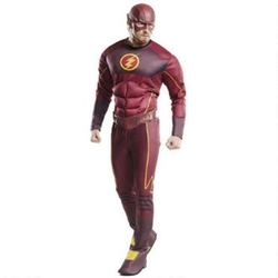 Warner Brothers - The Flash TV Series Muscle Chest Adult Costume