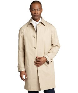 Prada - Coloniale Cotton Twill Car Trench Coat