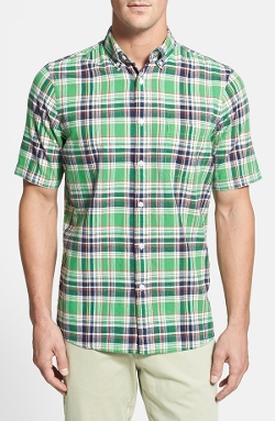 Nordstrom - Regular Fit Short Sleeve Sport Shirt