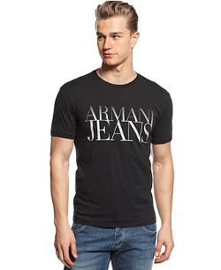 Armani Jeans -  Chest Logo T-Shirt
