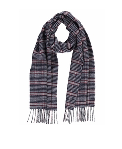 Hickman & Bousfield - Merino Blend Houndstooth Scarf