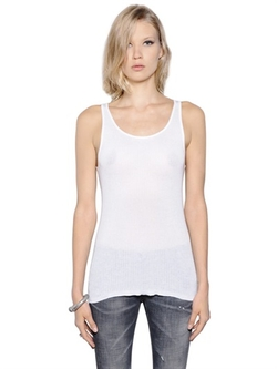 Faith Connexion - Ribbed Thin Cotton Tank Top