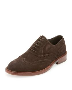 Kenneth Cole  - Elte Perforated Suede Shoe
