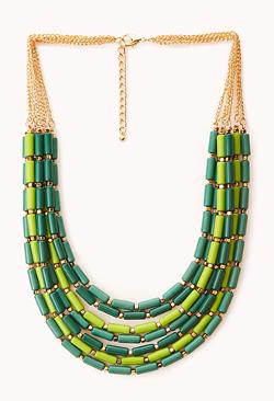 Forever21 - Down to Earth Beaded Necklace