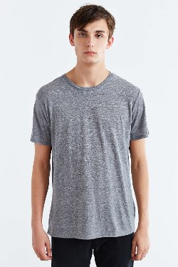 BDG - Standard-Fit Crew Neck Tee Shirt