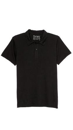 Save Khaki  - Short Sleeve Polo