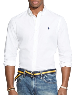 Polo Ralph Lauren - Poplin Button Down Shirt