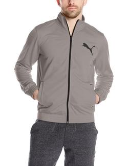 Puma - Contrast Front-Zip Track Jacket