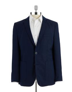 Vince Camuto  - Slim Fit Wool-blend Blazer